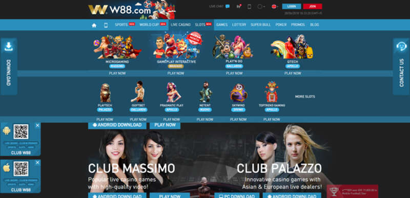W88 Asia Has Wide Variety of Games and Big Winning