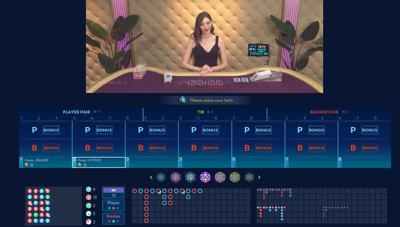 The Clubs and Baccarat Live Online - Club Massimo