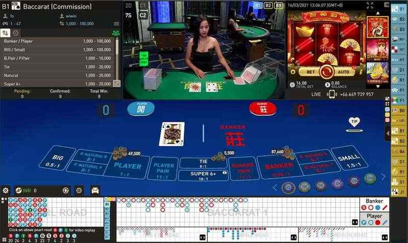 The Clubs and Baccarat Live Online - Club W Casino