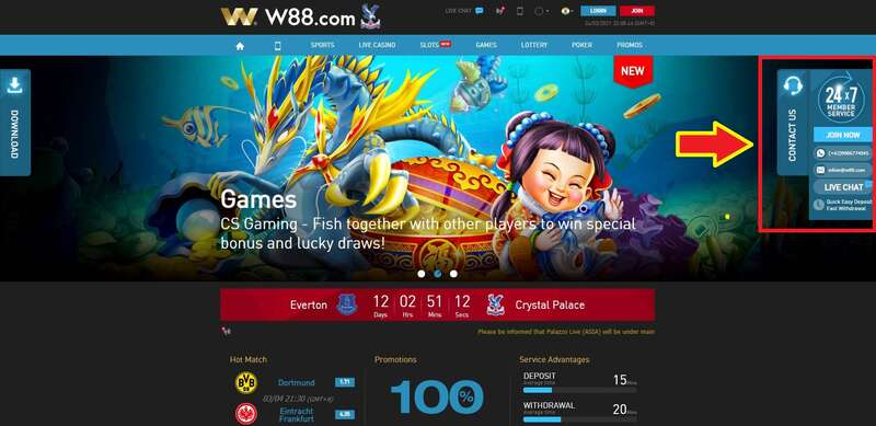 How to Connect with W88 Live Support Team