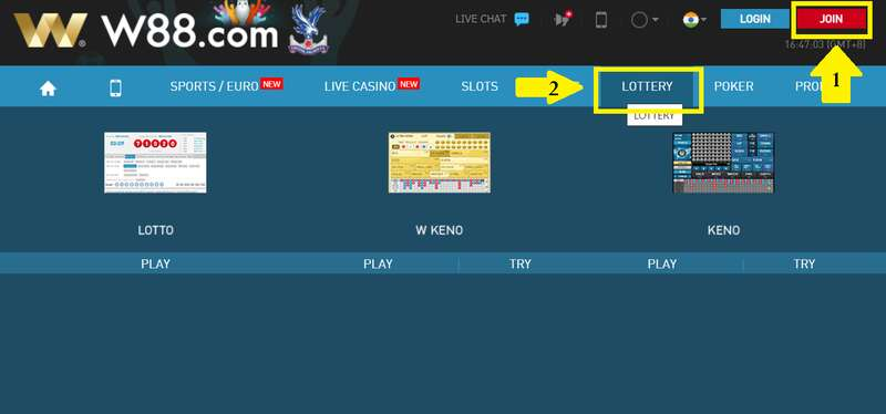 Easy Steps on How to Play Keno in W88 2021