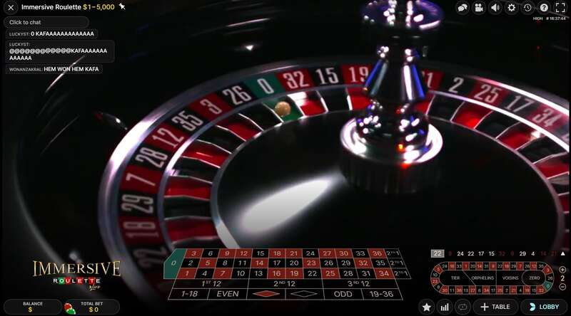 Roulette W88 Feature
